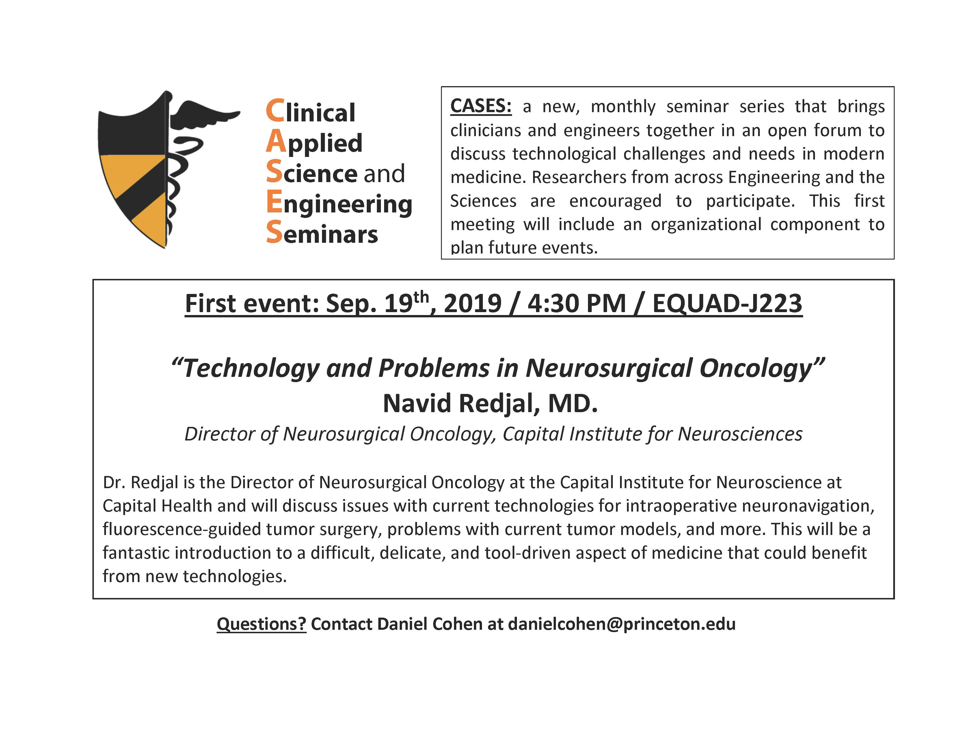 CASES: Technology and Problems in Neurosurgical Oncology