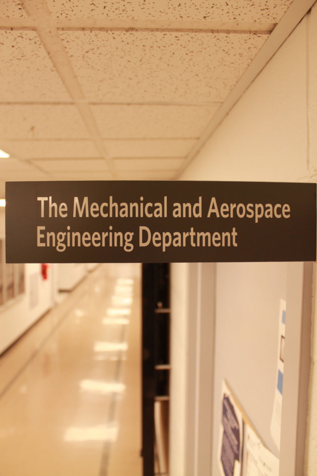 Mechanical and Aerospace Engineering Department