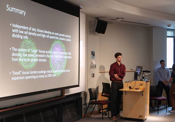 Matthew Heinrich: Growth Dynamics of Large, Freely Expanding Epithelial Monolayers