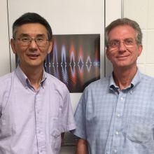 Prof. Yiguang Ju and Prof. Bruce Koel